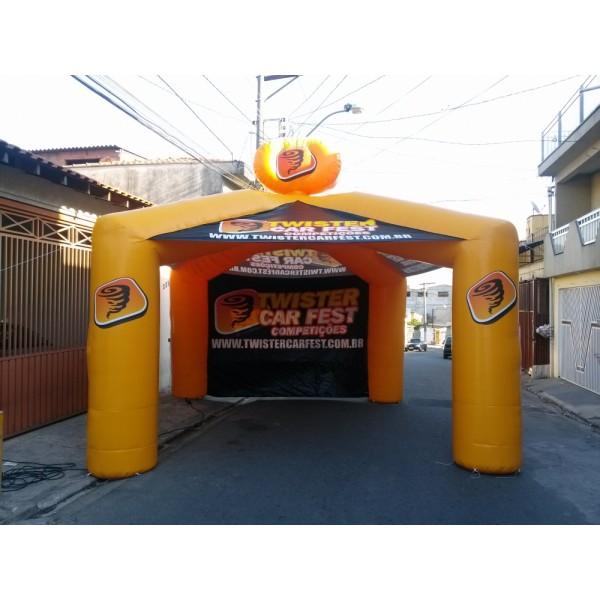 Tenda  em Pontal - Tenda Inflável em MG
