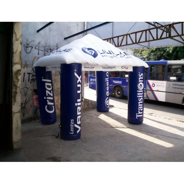 Tenda Inflável na Moisés - Tenda Inflável em Recife