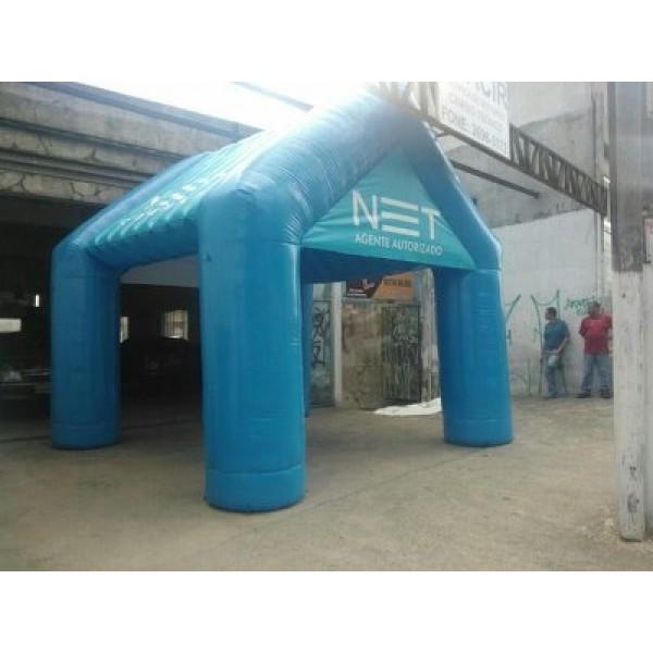 Tenda Inflável na São Pedro - Tenda Inflável Preço
