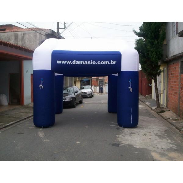 Tenda Inflável na Vila Padre Manuel da Nóbrega - Tenda Inflável