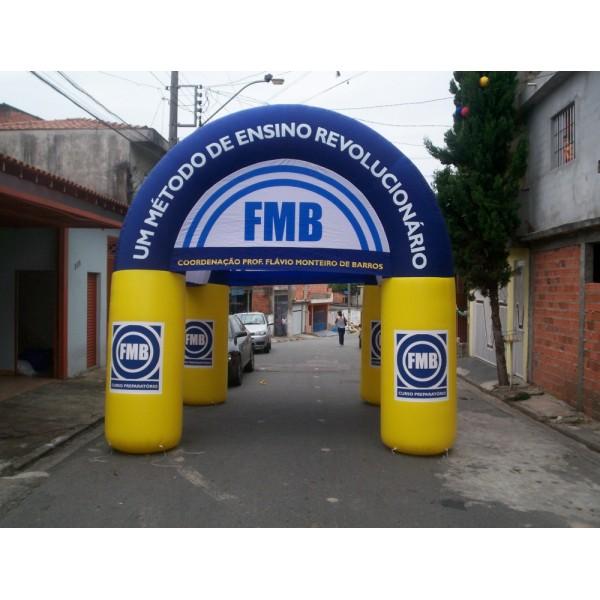 Tendas Jardim das Tulipas - Tenda Inflável