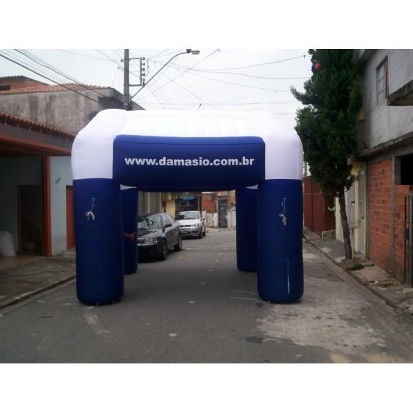 Tendas no Porto Grande - Tenda Inflável Personalizada