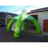 Achar tendas infláveis na Vila Menck