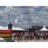 Balão blimp valores na Parque União