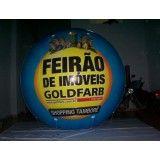 Balão de blimp na Cidade Luiza