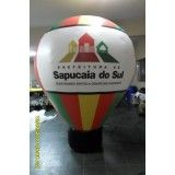 Balão roof top em Aramina