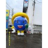 Boneco inflável para posto na Itapecuru-Mirim