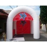 Conseguir tenda inflável na Vila Modesto Fernandes