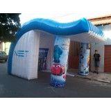 Conseguir tenda inflável no Capricórnio