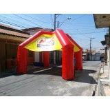 Conseguir tendas infláveis em Bilac