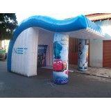 Conseguir tendas infláveis na Bonança
