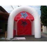 Conseguir tendas infláveis na Santa Cruz