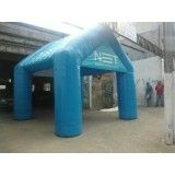 Conseguir tendas infláveis na Vila Savietto