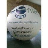Empresa de balão blimp na Sapé