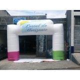 Empresas de portais infláveis no Rio do Sul