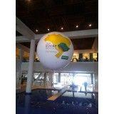 Encontrar balões de blimp na Cidade Santos Dumont