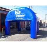 Onde conseguir tenda inflável na Boa Vista