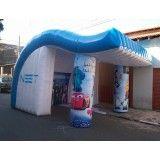 Onde conseguir tendas infláveis Jardim Celeste
