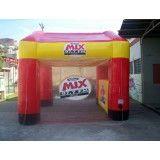 Onde tem tenda inflável em Caiuá
