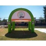 Onde tem tendas infláveis em Quintana