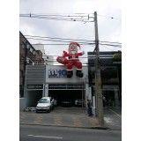 Papai noel boneco inflável em São Paulo