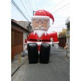 Papai Noel Inflável Gigante