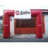 Portais infláveis na Residencial Colina das Nascentes