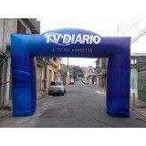 Portal inflável em Recife