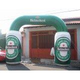 Portal inflável em Salvador