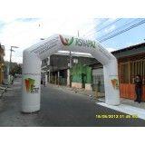 Portal inflável no RJ