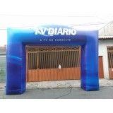 Portal inflável para eventos SP