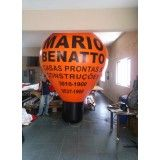 Preço de Balão estilo roof top na Borba