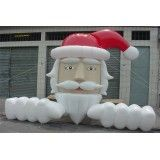 Preço de boneco de natal inflável em Uberlândia