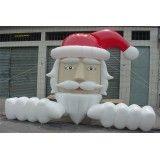 Preço de boneco de natal inflável Jardim Molinari