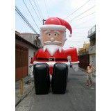 Preço de papai noel inflável  em Araraquara