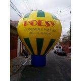 Preços de Balão estilo roof top Jardim Rosália I
