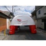 Preços de tenda inflável em Bagé