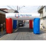 Preços de tenda inflável na Vila Santana