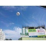Quanto custa em média balão de blimp em Sarapuí