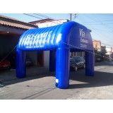 Tendas infláveis em Governador Valadares