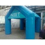 Tendas infláveis em Mesquita