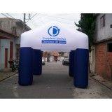 Tendas infláveis na Jaqueline