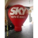 Valor de Balões roof tops em Guararema