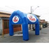 Valor de tenda inflável em Jaci