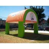 Valor de tenda inflável em Taiaçu