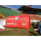 Valor de tenda inflável Jardim Bassoli