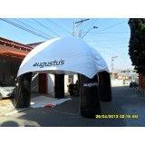Valor de tendas infláveis em Piraquara