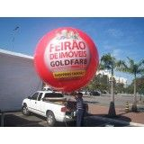 Valores de balão blimp na Cardoso