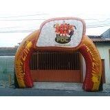 Valores de portal inflável em Sebastianópolis do Sul