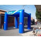 Valores de tenda inflável no Alambari